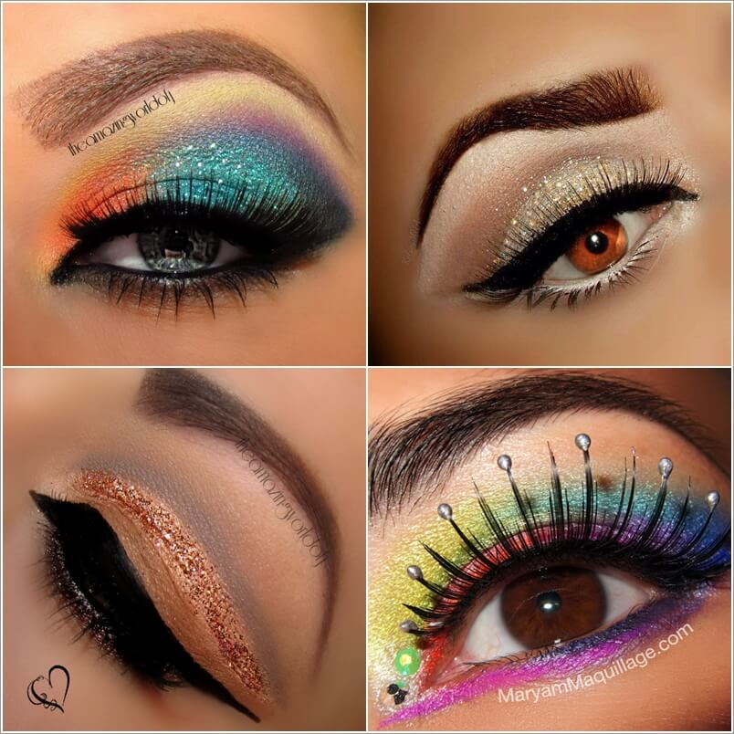 10 Cool Ways to Wear a Shimmer Eye Makeup