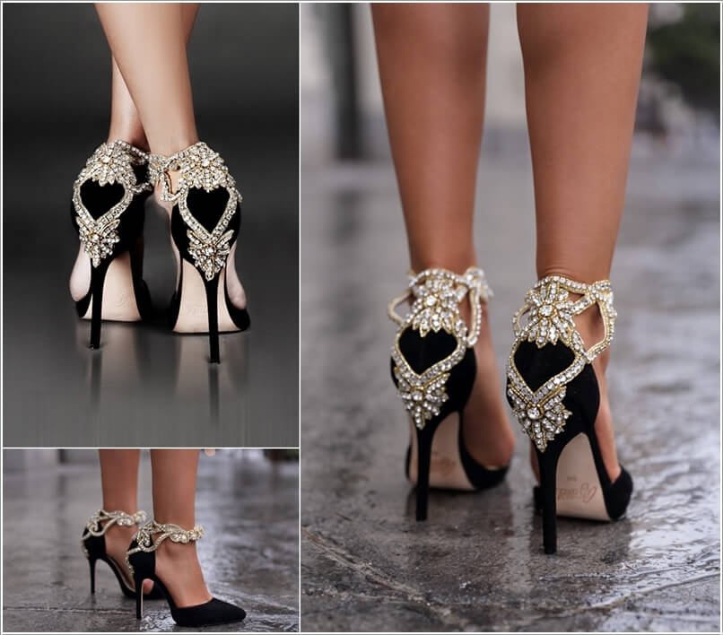 10 Sexy Black Heels That Are No Ordinary Shoe Pairs