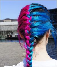 Pink And Blue Hair Color Ideas | www.pixshark.com - Images ...