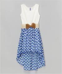 10 Super Stylish White and Blue Dresses