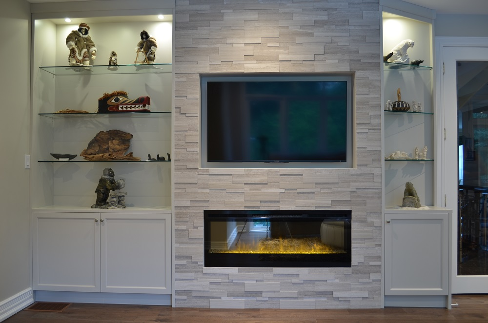 Fireplace Makeover: Second time's a charm