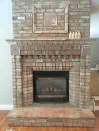 How to convert a gas fireplace to electric - Stylish ...