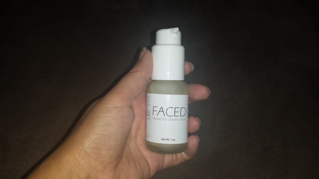 faced serum