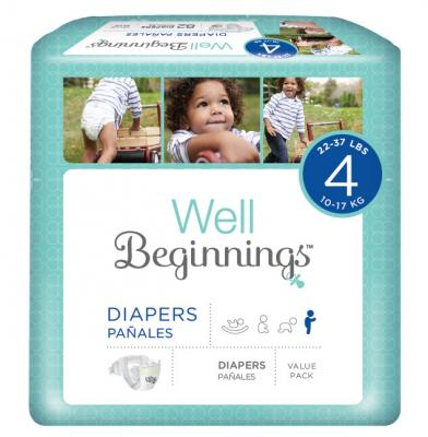 Walgreens Well Beginnings Diapers