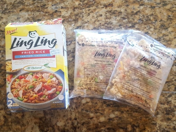 Why We Love Ling Ling Fried Rice #FriedRiceFriday #IC #ad