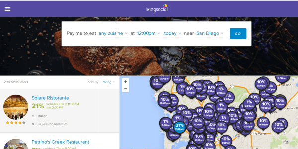 Restaurants Plus from LivingSocial #dining #food #sandiego