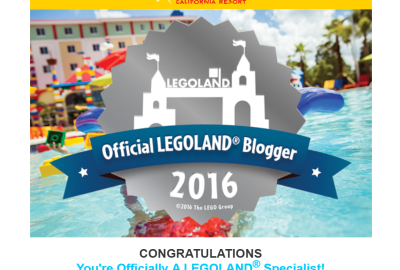 I'm an Official LEGOLAND Specialist Blogger! #legolandblogger #legolandca #sandiego #california #legoland