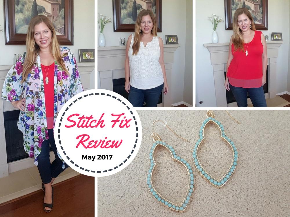 Stitch Fix Review May 2017 #stitchfix #fashion #style