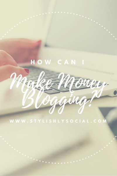 How To Make Money Blogging #blogging #socialmedia #money