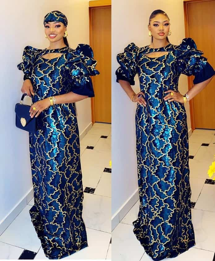 Stunning and Sophisticated Maxi and Bubu kaftan Styles for Classy Looks