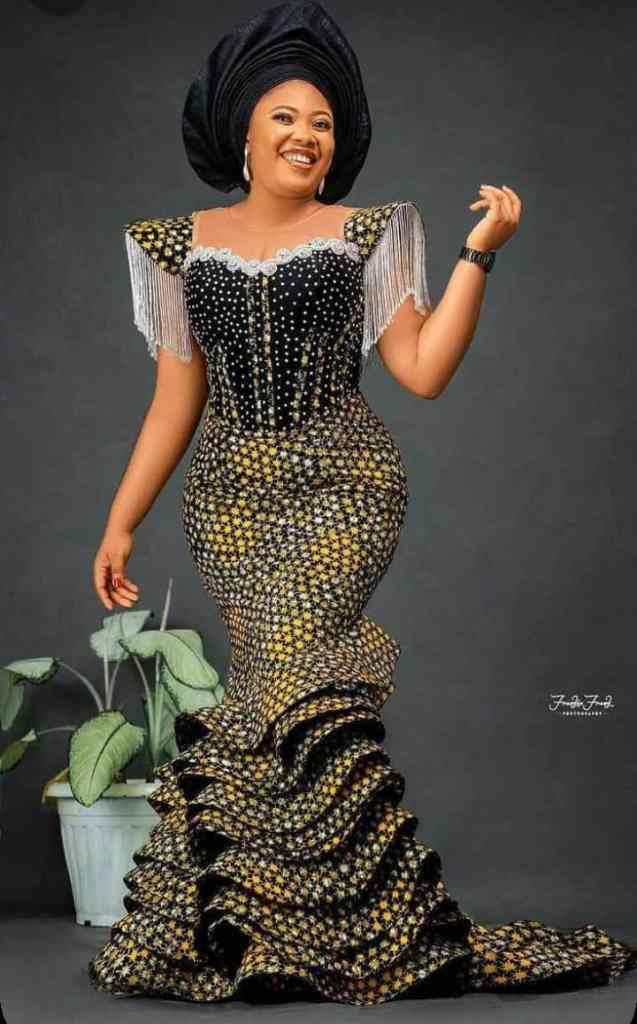 Gorgeous and fascinating Ankara styles for church and other occasions