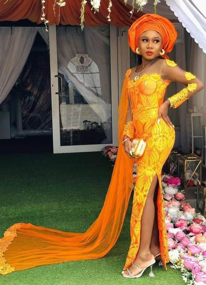 Trending and gorgeous party guest Styles for Classy African Ladies