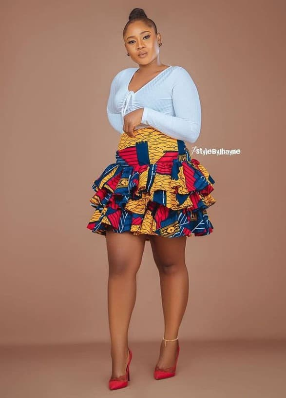 Stylish and Fashionable Ankara Styles for Weekend Outings
