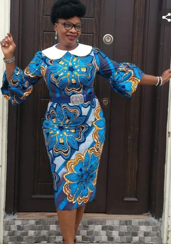 Latest Ankara Styles For Office and Work Place