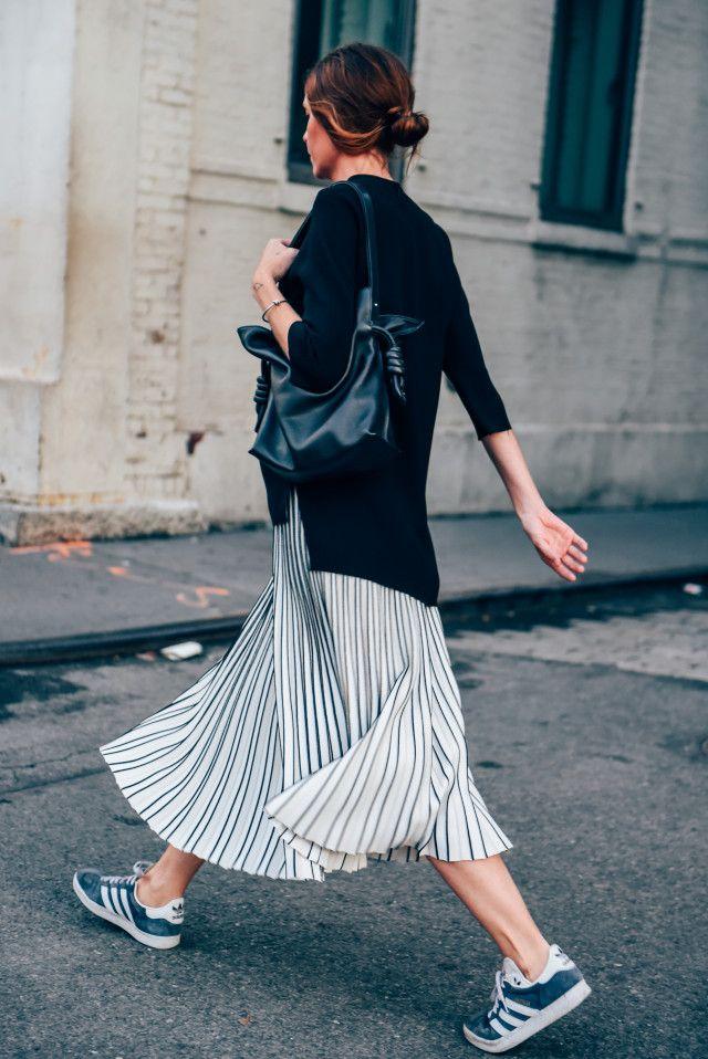 skirt-silver