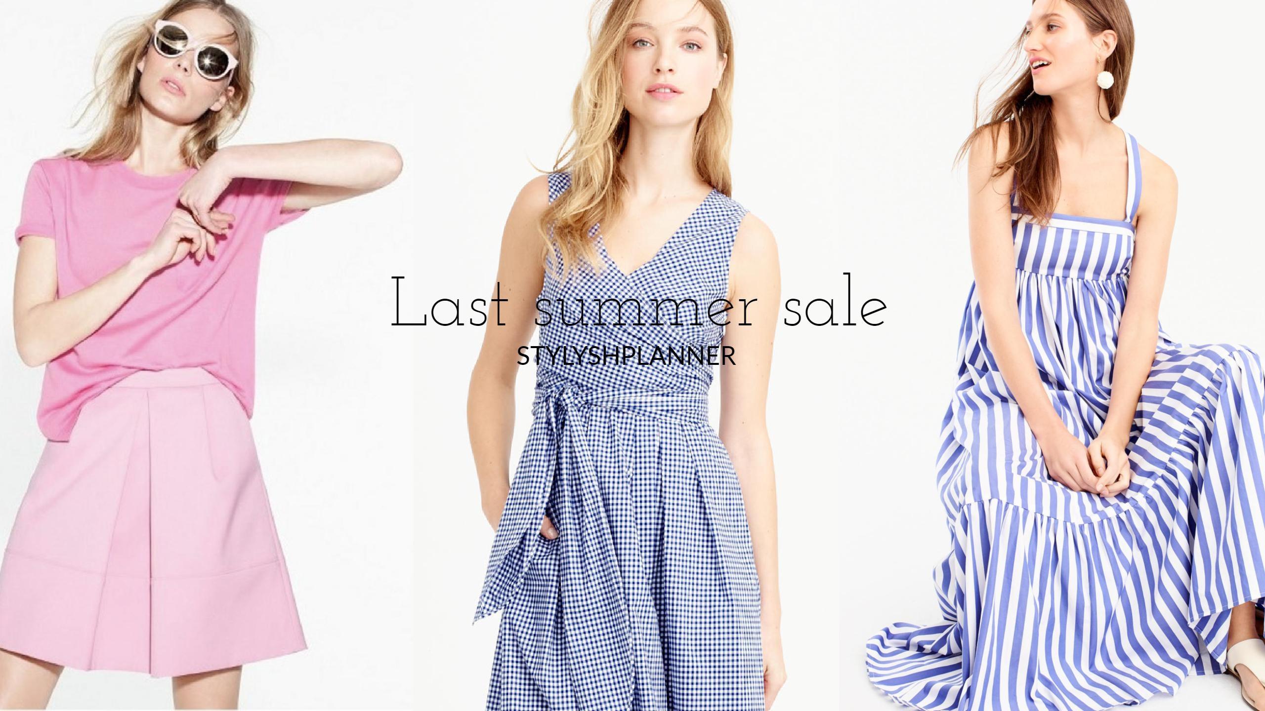 Last summer sales