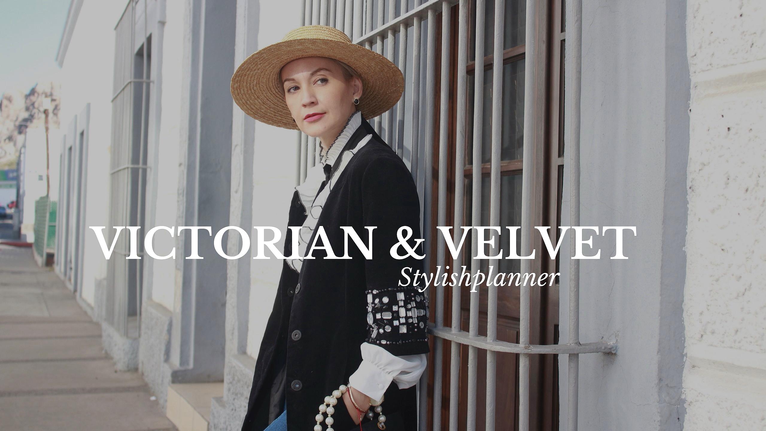 Victorian & velvet