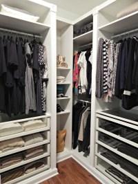 Revamping my Closet with the IKEA Pax Wardrobe - Stylish ...