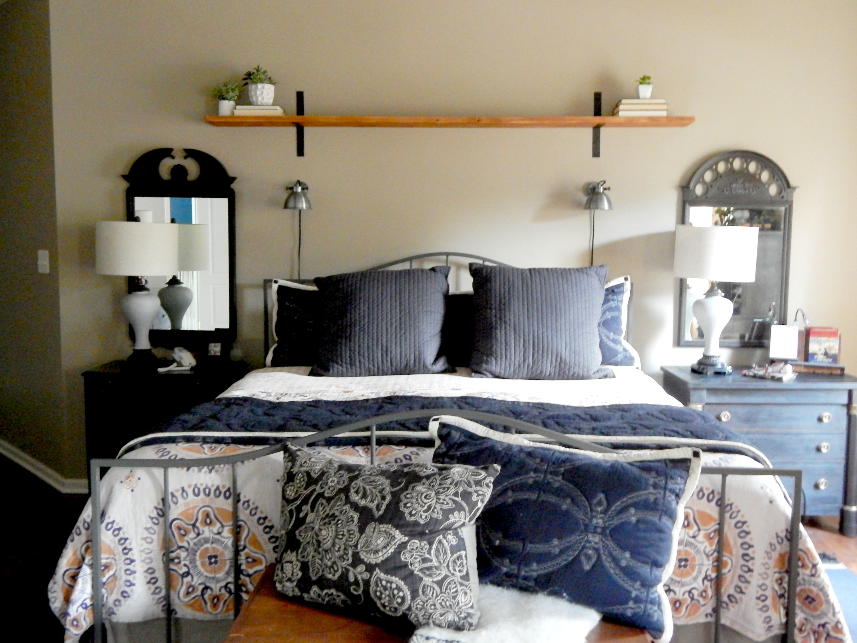 Fixer Upper Style Master Bedroom Reveal  Stylish Revamp