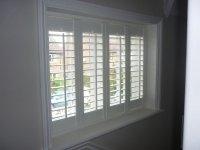 inside window shutters 2017 - Grasscloth Wallpaper