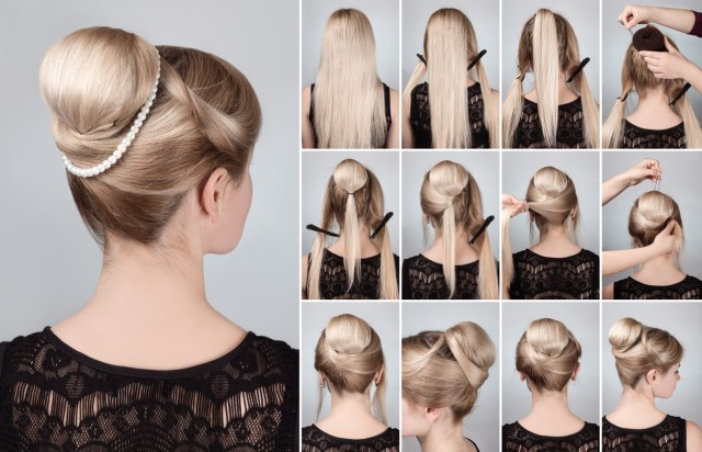 create your own classic audrey chignon