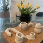 How To Make Clay Candle Holders And Vases At Home