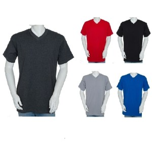 91768c65a773 Big and Tall V-Neck Shirts – Heavy Weight