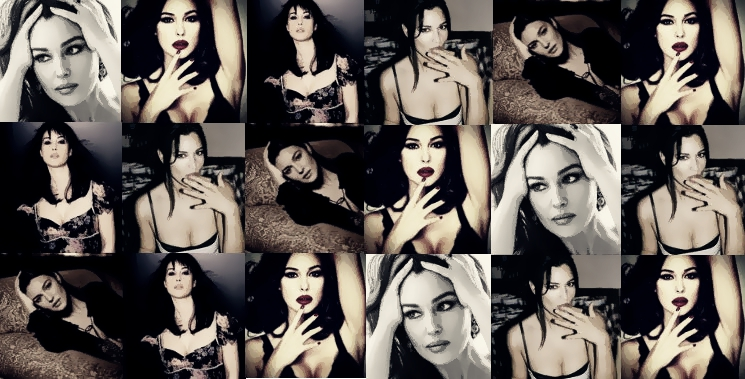 Monica Bellucci Collage