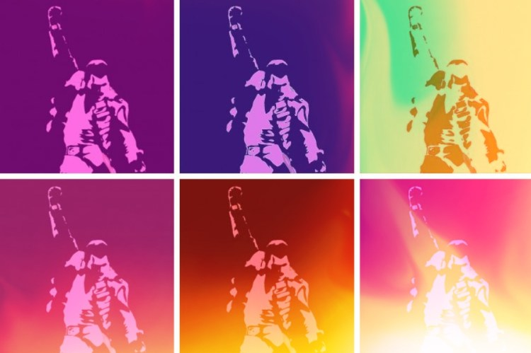 Freddie Mercury Pop Art