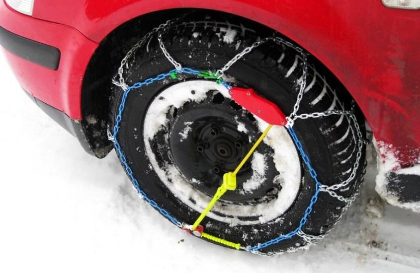 Catene da neve: furono brevettate in agosto