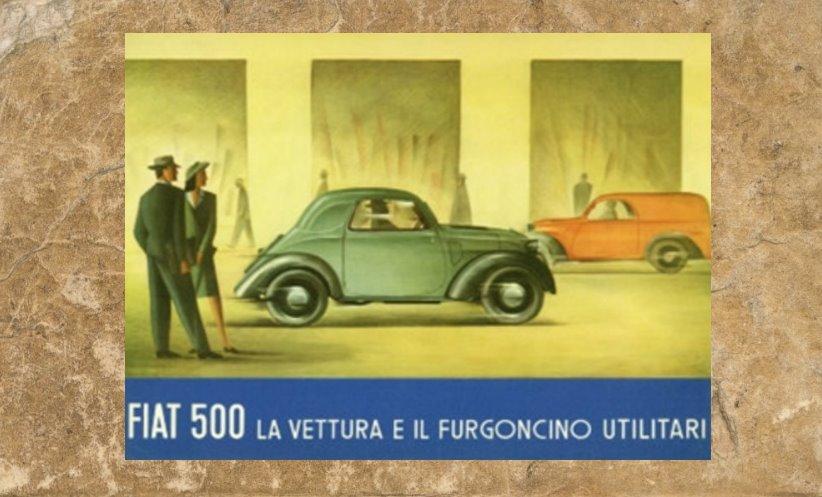 Topolino: c'era una volta la storica auto Fiat