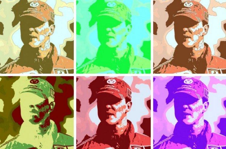 Michael Schumacher PopArt