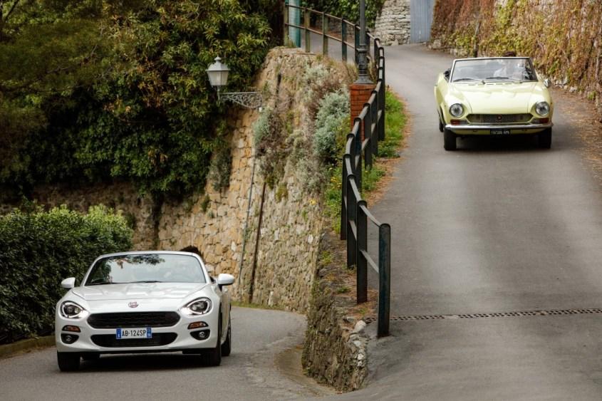 Fiat 124 Spider: ieri e oggi