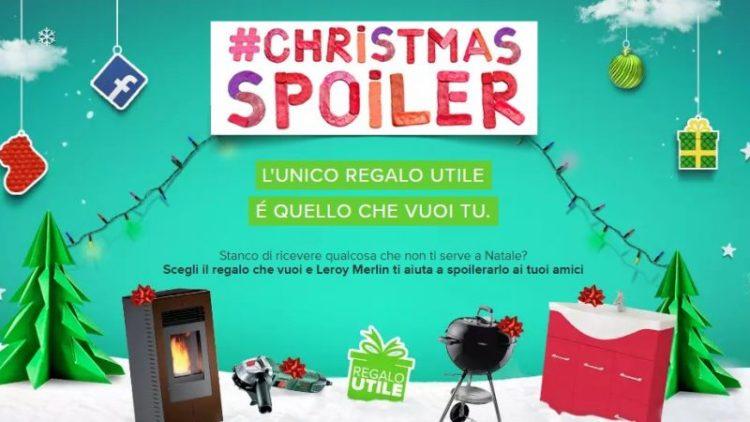 Il Regalo Giusto A Natale Basta Un Christmasspoiler Su Leroy Merlin