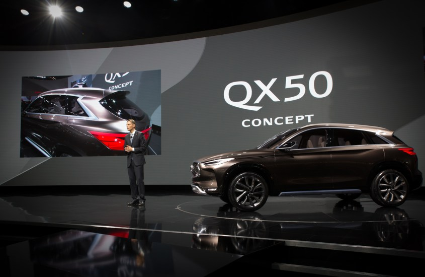 Infiniti QX50 Concept: design di lusso e non solo per il SUV del futuro