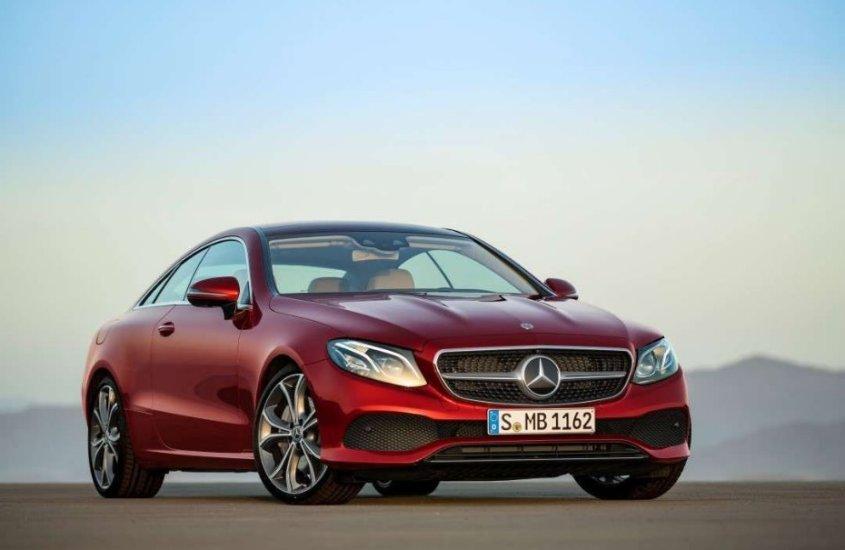 Mercedes Classe E Coupé: un piacere per gli occhi