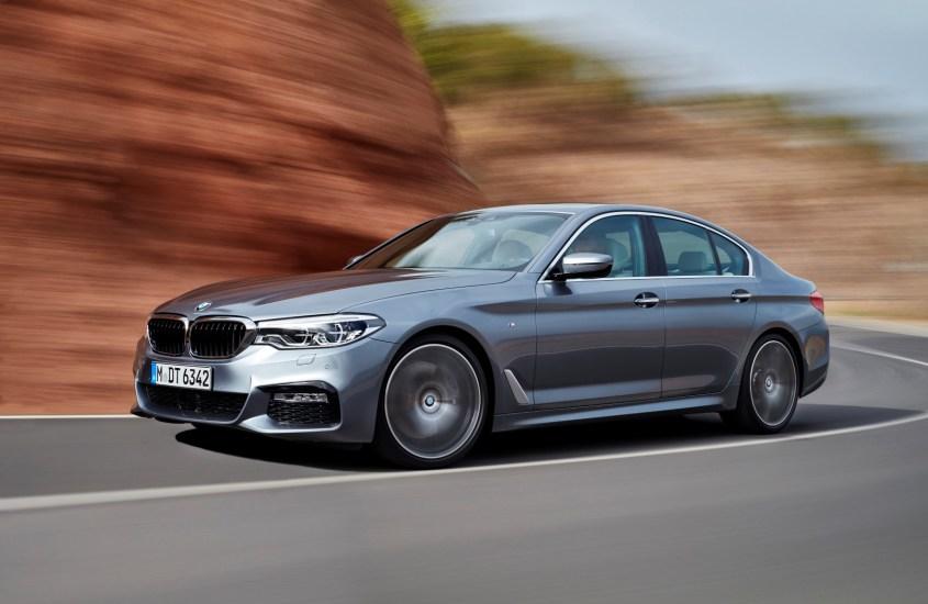 BMW Serie 5 al NAIAS 2017: alta classe e tecnologia avanzata