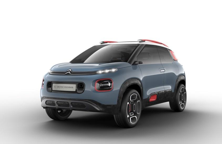 C-Aircross Concept: il SUV compatto dallo stile innovativo