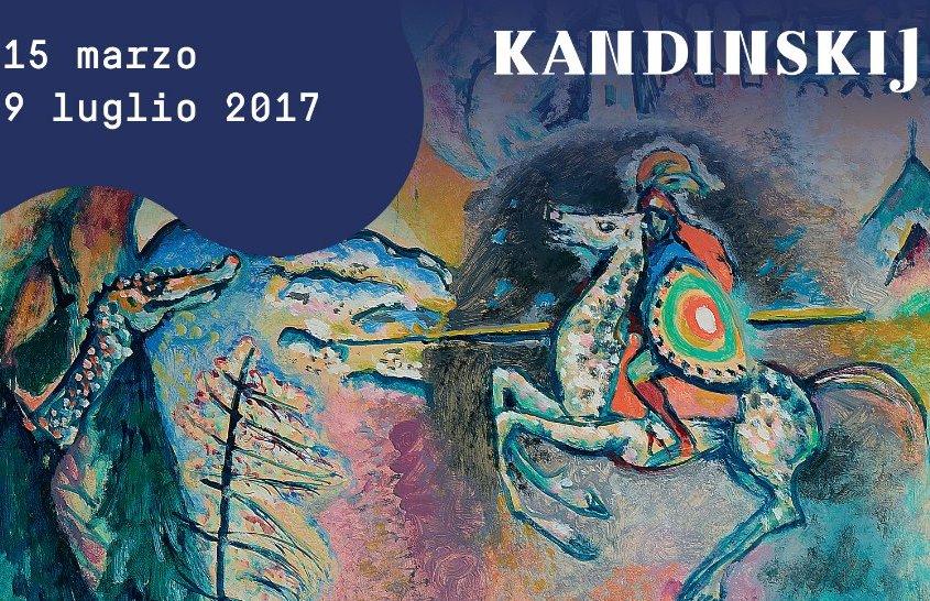 """Kandinskij """"Il cavaliere errante"""": la mostra al MUDEC di Milano"""