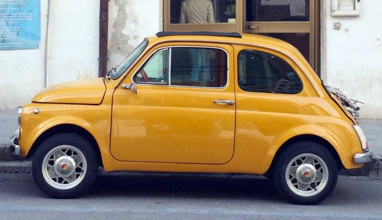 Fiat 500 storia