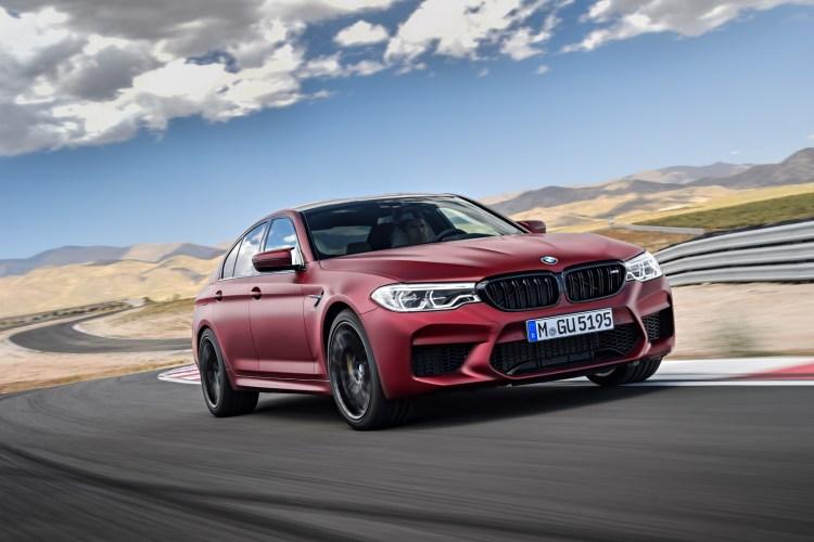 BMW M5 Salone di Francoforte