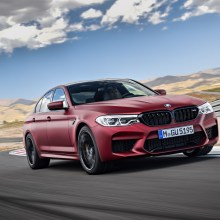 BMW M5 Salone di Francoforte
