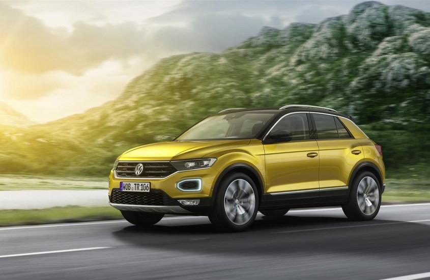 Volkswagen T-Roc: SUV compatto dall'aspetto young