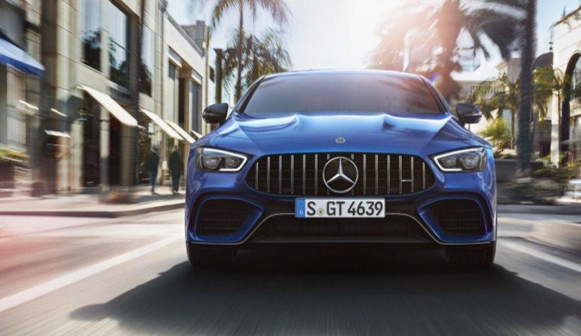 Mercedes-AMG GT Coupé4: quattro porte, zero compromessi