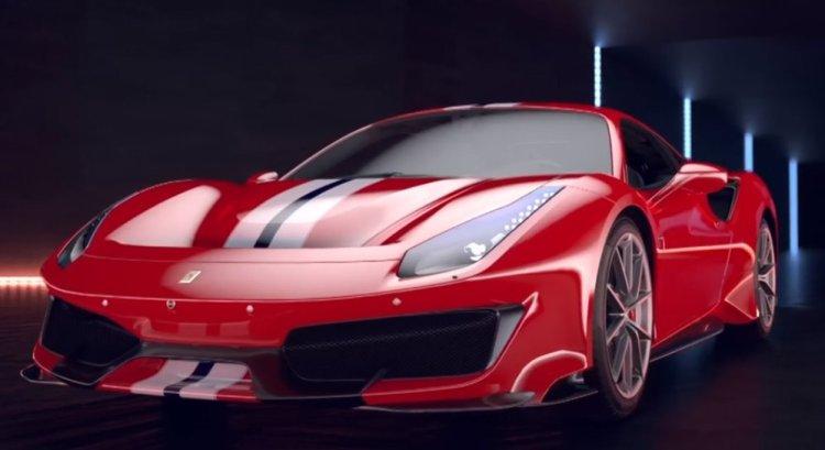 Ferrari 488 pista Salone di Ginevra 2018