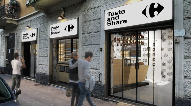 taste and share Carrefour