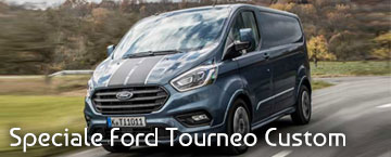 Speciale FORD TOURNEO CUSTOM