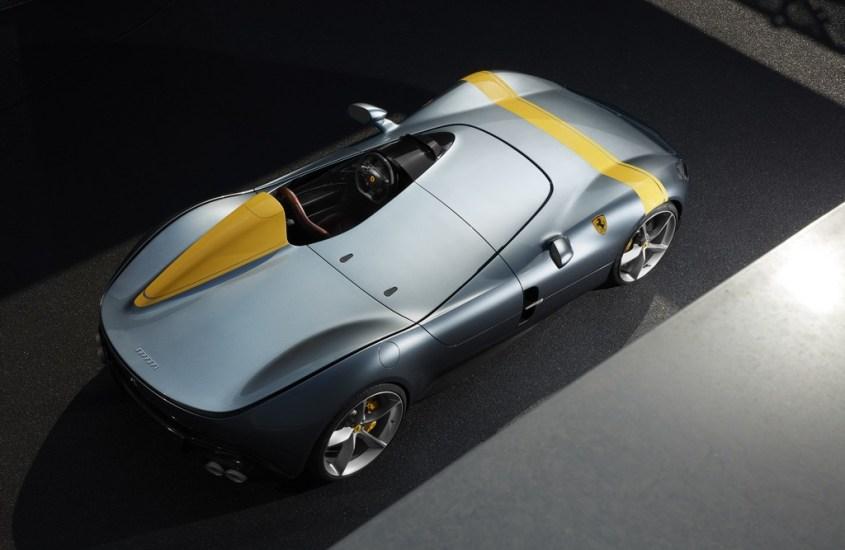 Ferrari Monza SP1 eSP2: le stelle del Salone di Parigi 2018