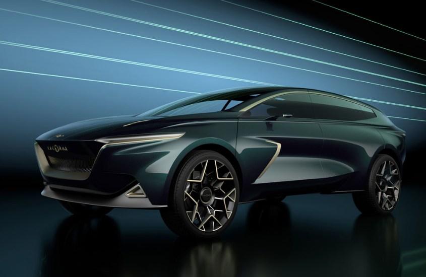Lagonda All-Terrain Concept: lusso elettrico al salone di Ginevra