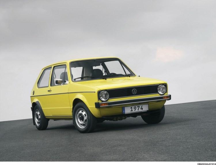 Volkswagen Golf 45 anni